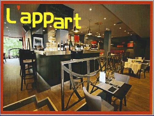 Restaurant L'Appart
