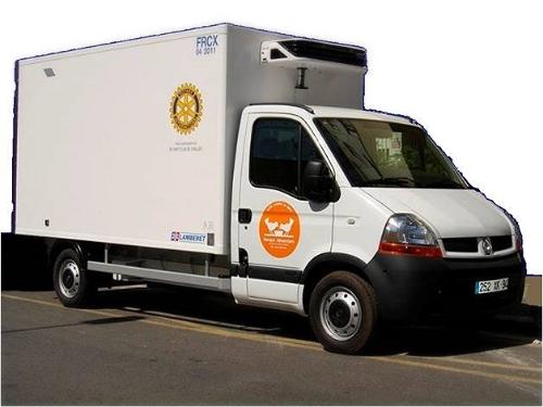 Camionette réfrigérée
