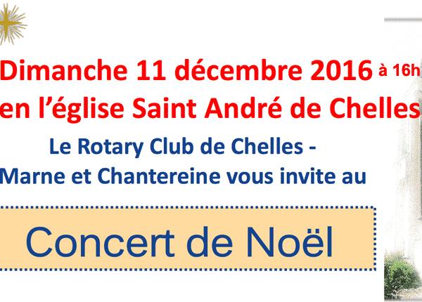 Concert de Noël 11 Déc. 2016
