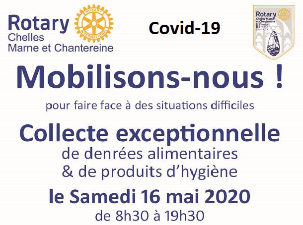 Collecte exceptionnelle du 16-05-2020
